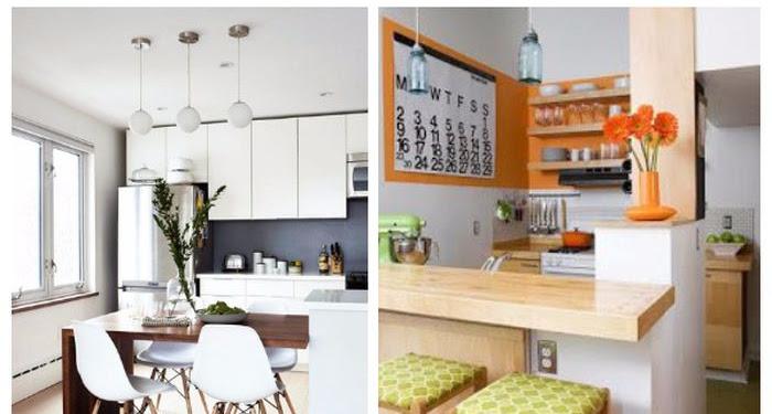 Desain Dapur Dan Ruang Makan Kecil Terbaru
