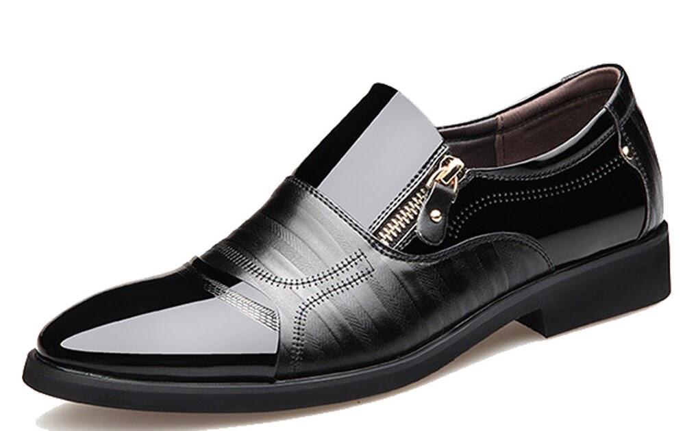 8ddc77bedb8 Купить NPEZKGC Модные Мужские модельные туфли Туфли оксфорды из натуральной  кожи на шнуровке Повседневное Бизнес Формальные Мужская обувь мужские бр.