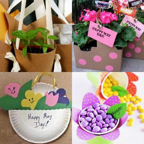 12 May Day Baskets You Can Make About Family Crafts