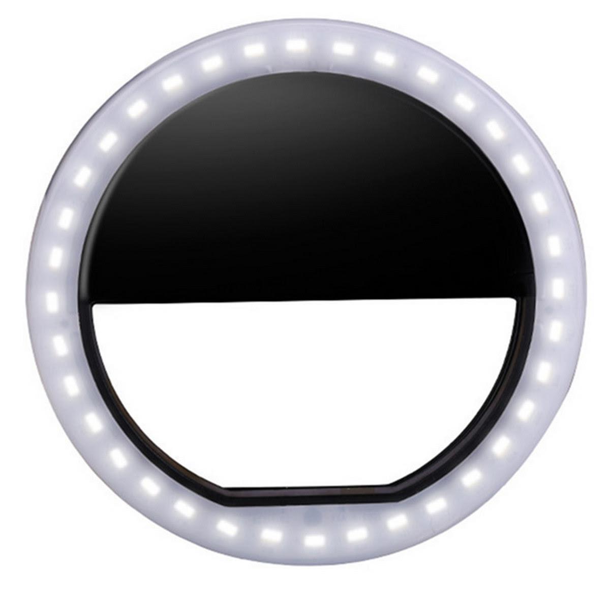 Portable LED Ring Flash Light Camera Photography Adapter ...