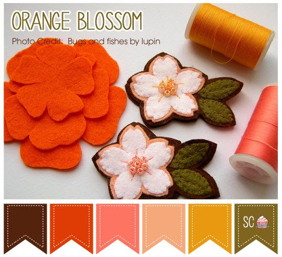 Orange Blossom Color Palette - Inspire Sweetness  http://www.inspiresweetness.blogspot.com/2013/12/orange-blossom-color-palette.html