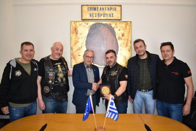 Ήγουμενίτσα: Συνάντηση της διοίκησης του Επιμελητηρίου Θεσπρωτίας με την Ελληνική Λέσχη Φίλων Μοτοσυκλέτας Harley-Davidson