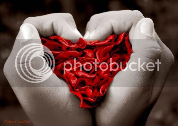 Recados e Imagens de Corações para Orkut