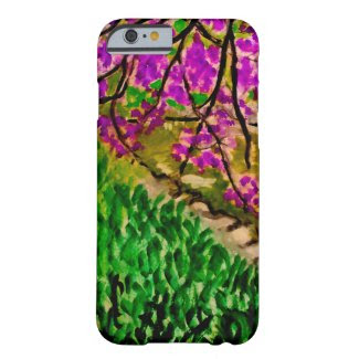 Cherry Blossom Landscape on iPhone 6/6S Case Barely There iPhone 6 Case