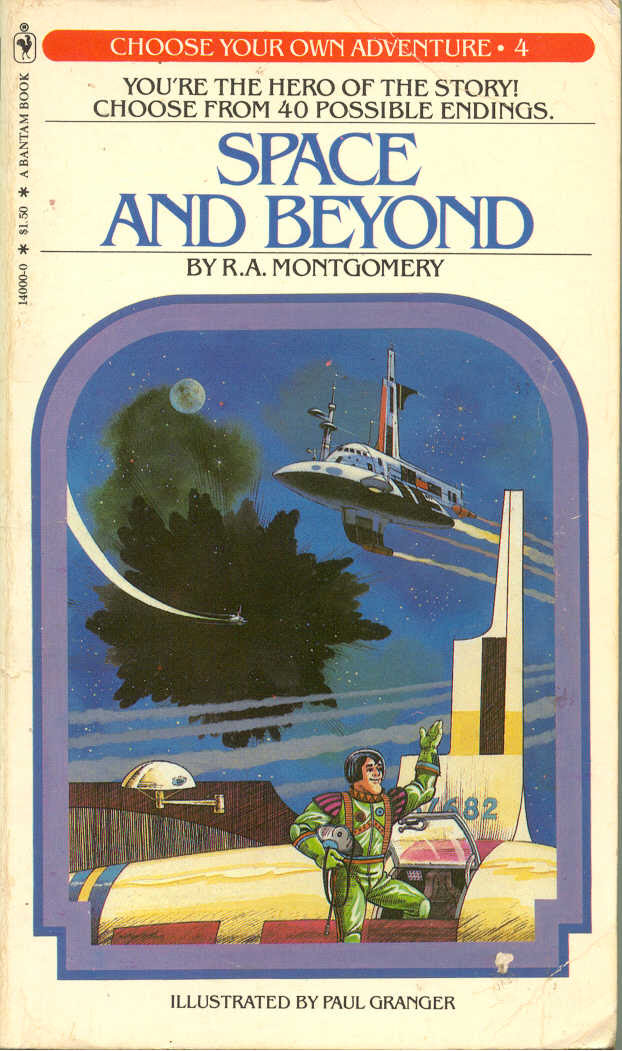 Image result for space and beyond choose your own adventure