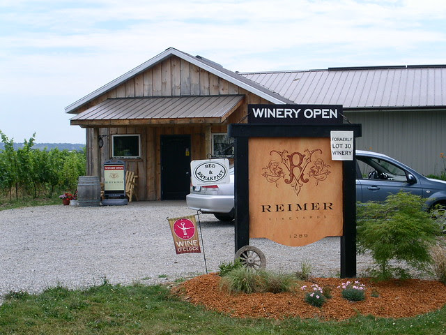 Reimer Winery - 22 July 2011 - NiagaraWatch.com