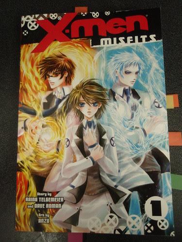 x-men: misfits cover