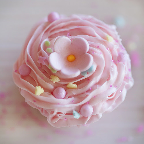 Pink cupcake from the Sprinkles book trailer by Jackie Alpers