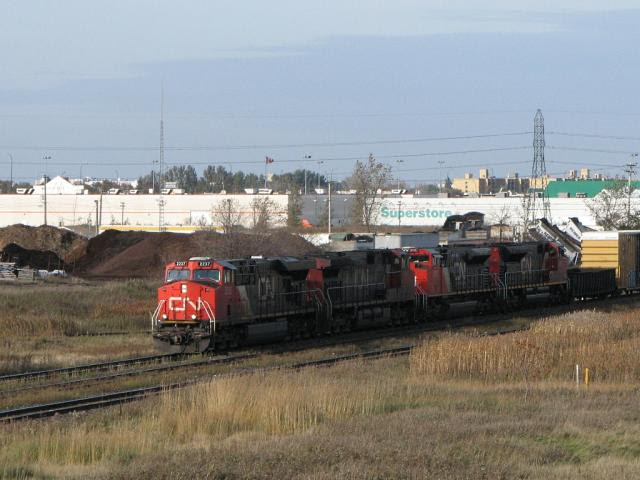 CN 2237 in Winnipeg