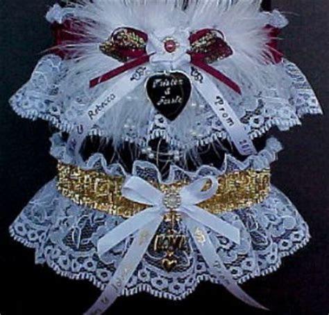 Personalized Garters for Prom / Wedding / Bridal. Custom