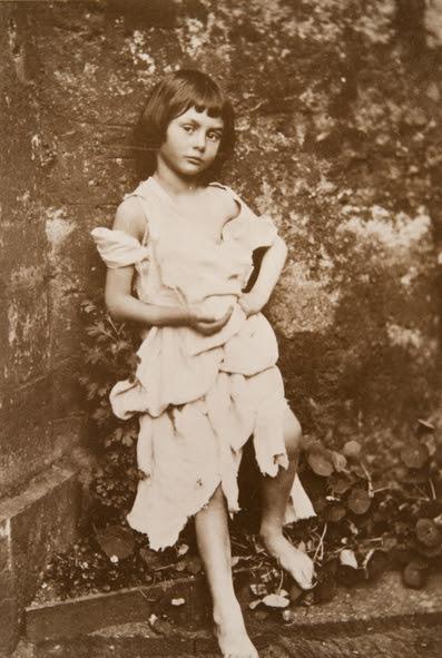 <em>Alice Liddell as the beggar maid</em>, 1859. - (Charles Lutwidge Dodgson, Collection of Tomsk Regional Art Museum)