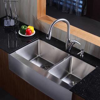 Jenis Sinki Dapur Moden Deco Desain Rumah
