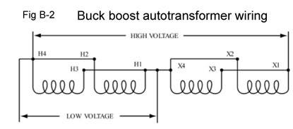Buck Boost Transformer