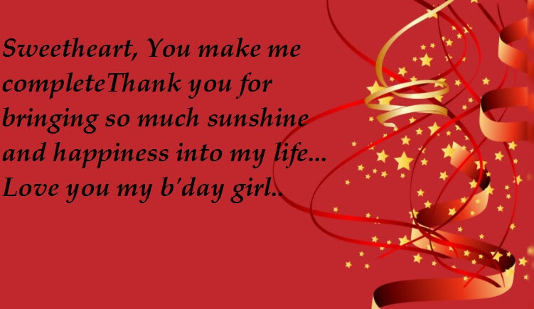 Love Quotes For My Birthday Girl Best Wishes