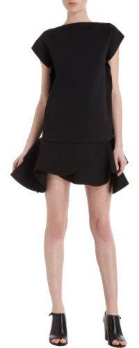 Givenchy Ruffle Hem Mini Dress