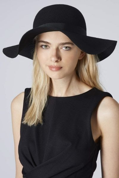 Topshop New Big Felt Floppy Hat