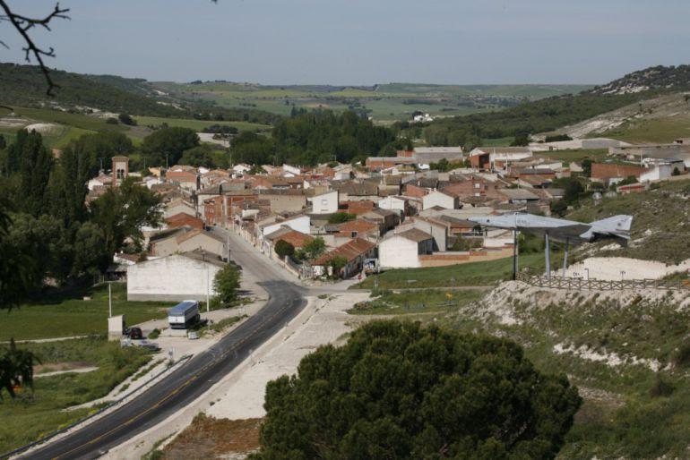 Vista de la localidad de Antigüedad