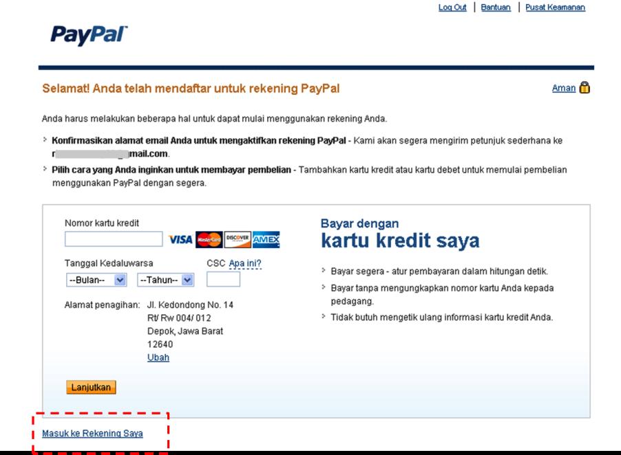 daftar paypal Apa Itu Paypal? Bagaimana Cara daftar / Membuat Akun Paypal?