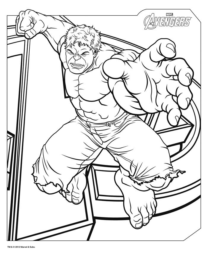 160 Dessins De Coloriage Avengers à Imprimer Sur Laguerchecom Page 1