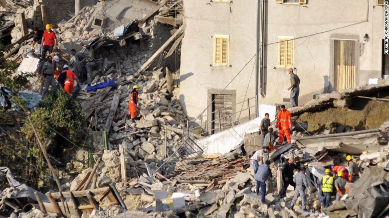 EARTHQUAKE HITS CENTRAL ITALY: Entire Towns Leveled, Rome Shaken, At Least 247 Dead