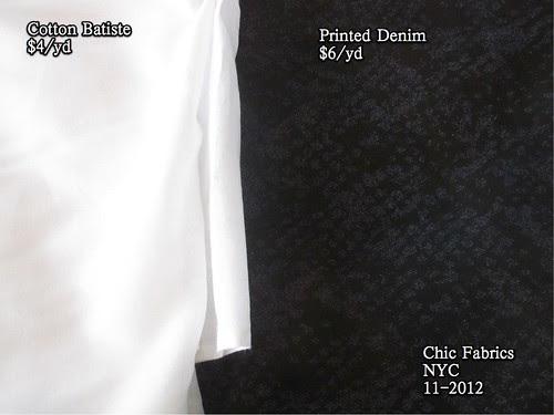 Chic Fabrics NYC 11-2012