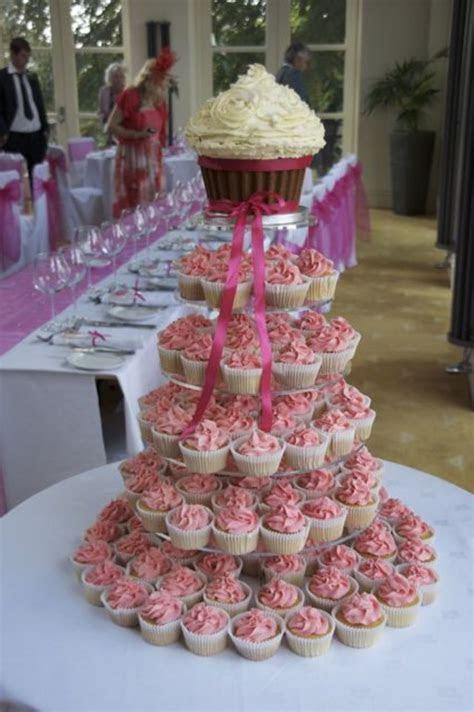 Giant Cupcake Wedding Cupcake Tower   CakeCentral.com
