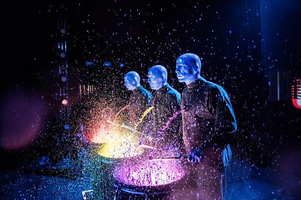 Blue Man Group.