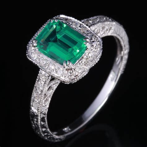 Emerald Cut Engagement Rings Harbinger of A Dream Wedding
