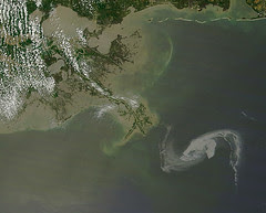 Oil Spill in Gulf of Mexico April 29th View [d...