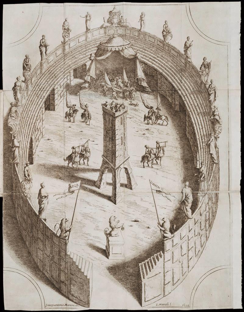 Relazione, e disegno della fiera, e festa popolare della Porchetta, fatta in Bologna lanno 1698