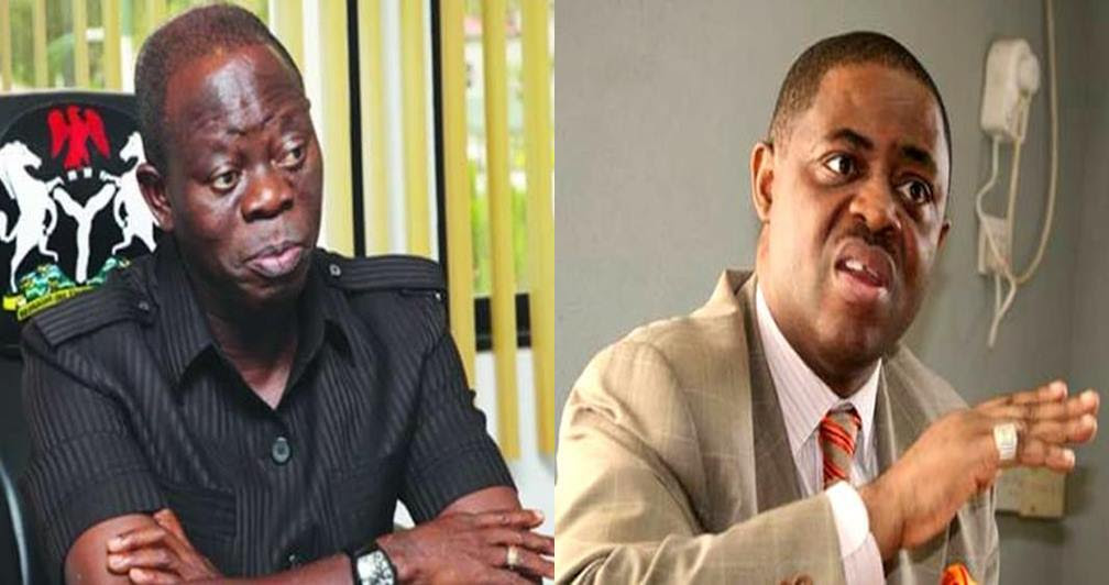 FFK again attacks Adams Oshiomole, calls him a Gorilla