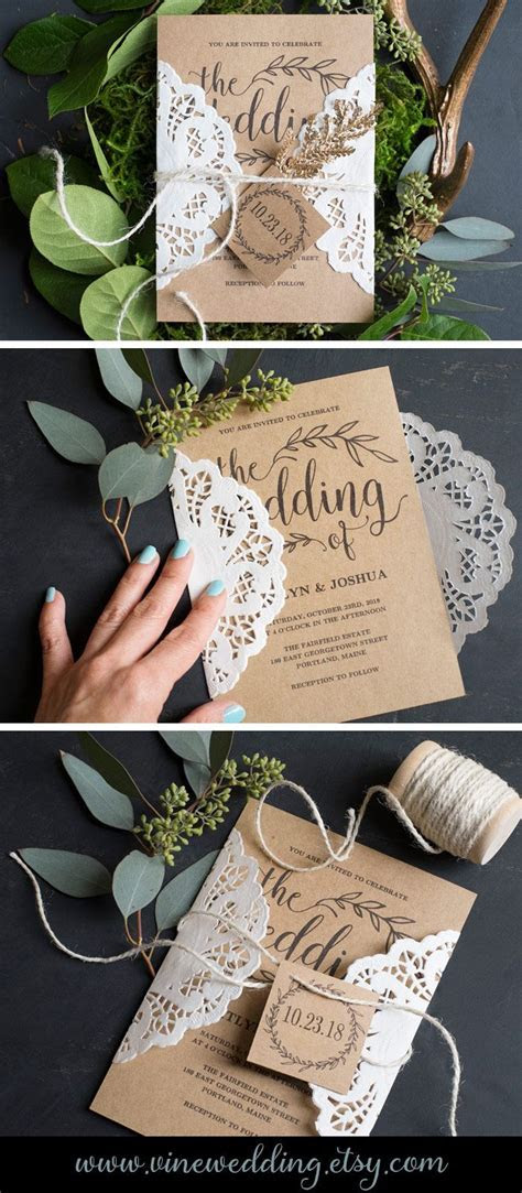 25  best ideas about Vintage wedding invitations on
