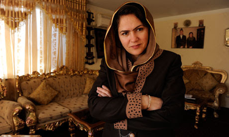 Fawzia Koofi, MP for Badakhshan afghanistan