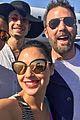 gal gadot snaps selfie with justice league cast