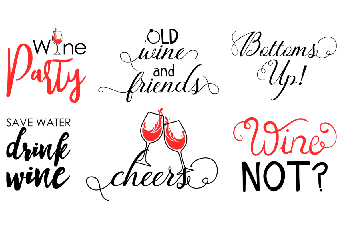 Beautiful Wine Quotes Svg Youraok