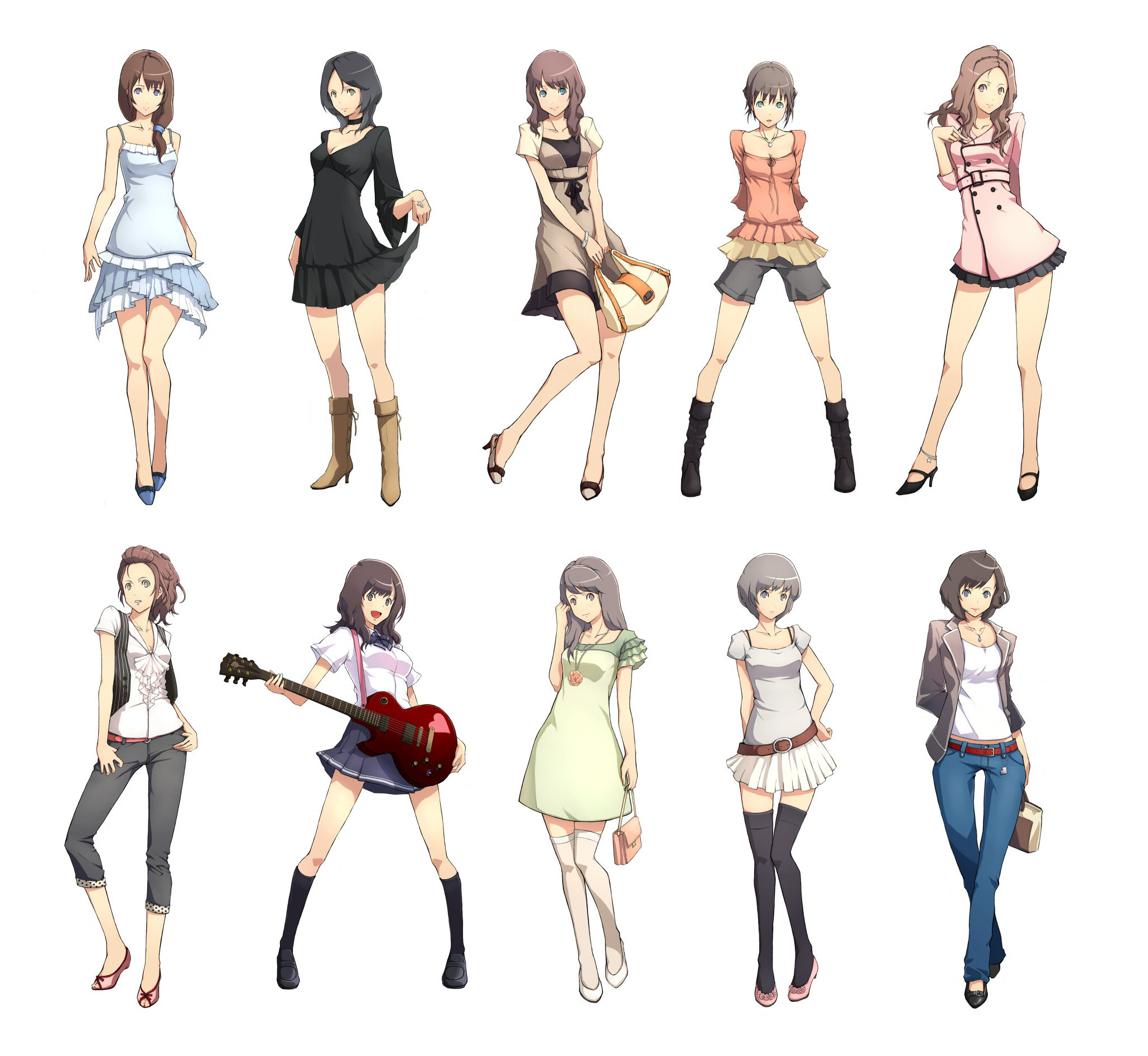 Outfit Ideas: Anime Drawing Outfit Ideas