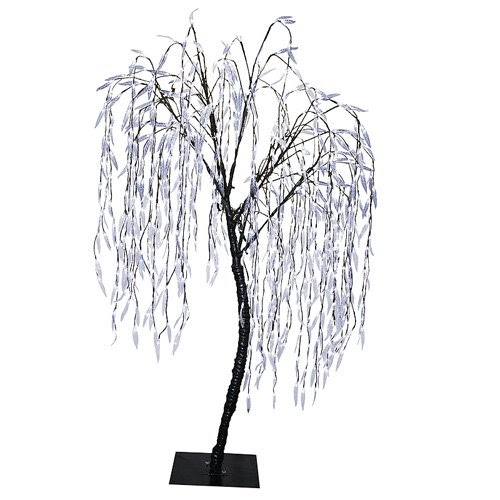 Christmas Outdoor Decor 6 5 Pre Lit Led Christmas Willow
