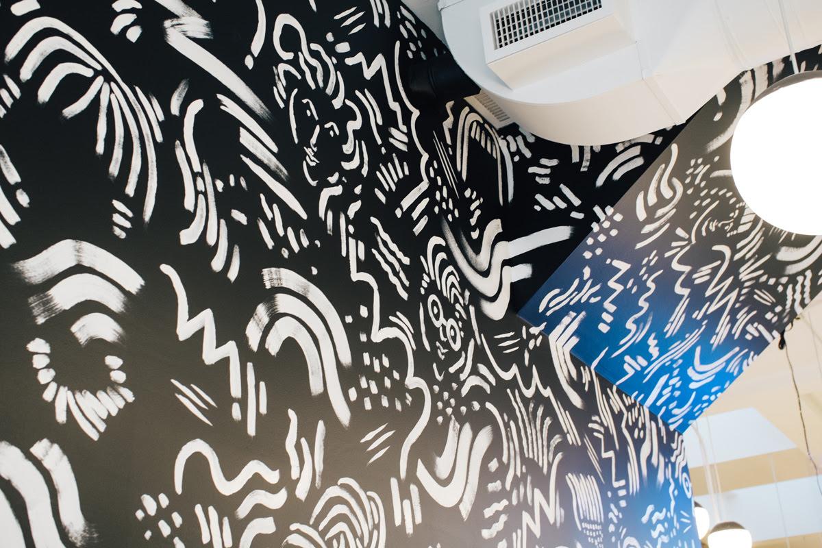 Rudy S Barbershop Portland Mural Will Bryant Studio
