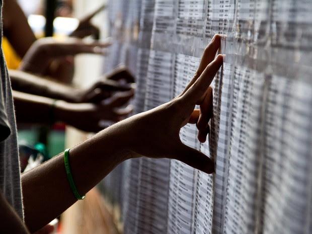 O primeiro vestibular com o sistema de cotas para negros foi realizado em junho de 2004. A UnB foi a primeira instituição do pais a adotar o sistema. Dos 4.385 cotistas inscritos no plano, 4.173 têm suas inscrições homologadas. (Foto: UnB Agência)