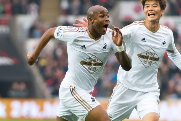 Swansea City Team News: Andre Ayew shakes off Ghana injury to face Stoke in Monday Night Football clash