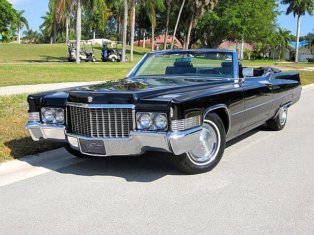 1970 Cadillac DeVille Convertible For Sale Delray Beach ...