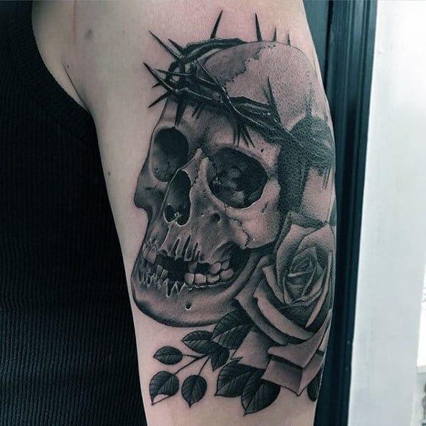 50 Thorn Tattoos For Men Sharp Design Ideas