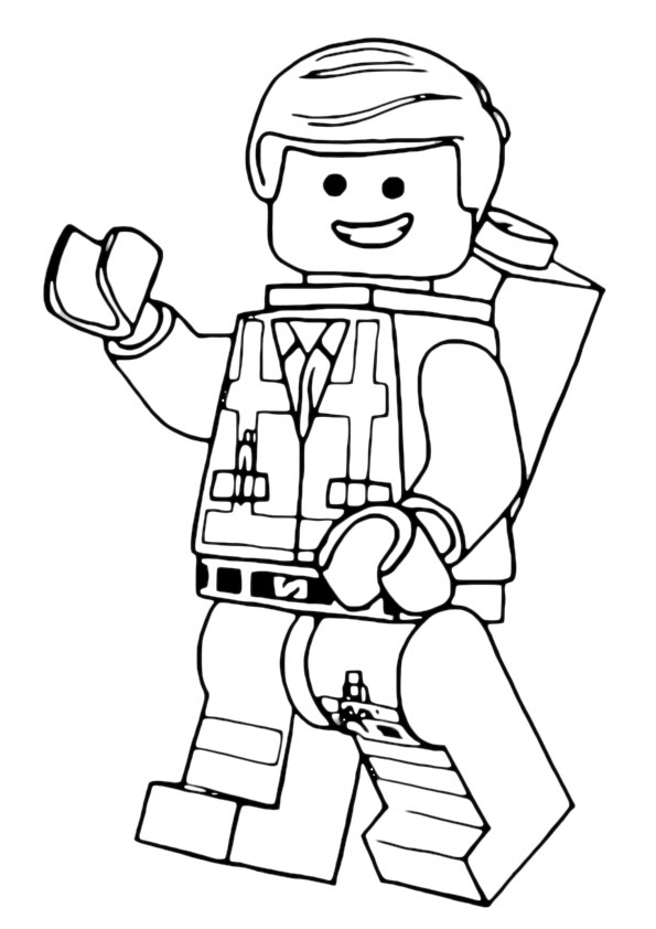 Lego City Airport Coloring Page - Free Coloring Pages Online