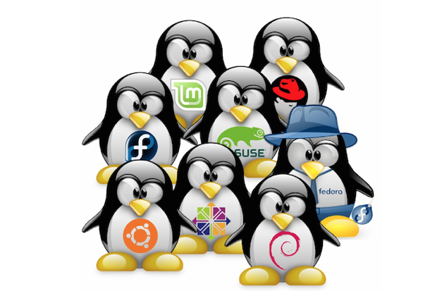mutliple linux distros