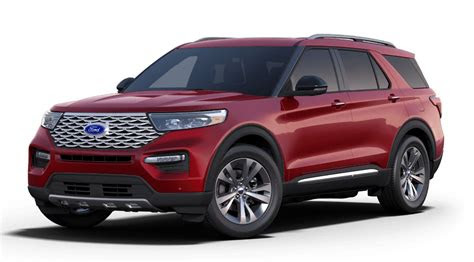 ford explorer rapid red exterior coloro brandon ford