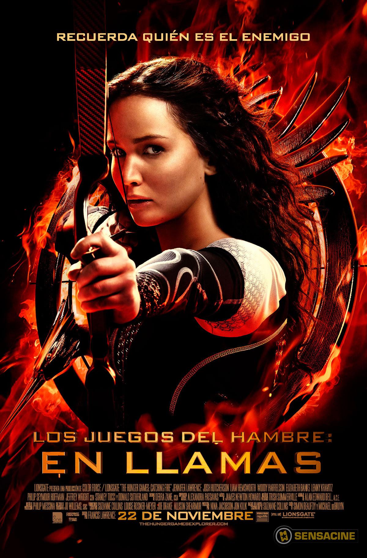 póster de la película En llamas