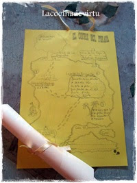 mapa pirata pequeña
