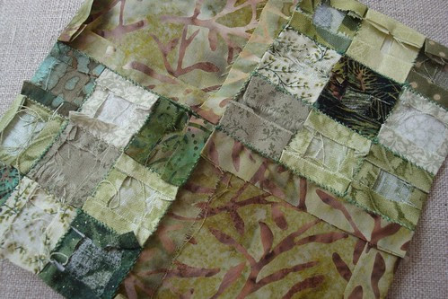 Green Cloth ~ Back of Block 1