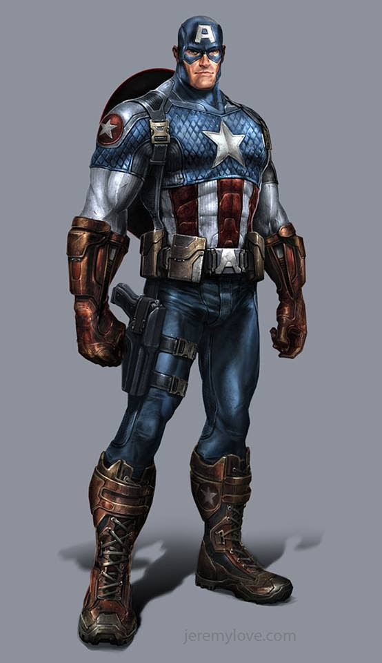Captain America by Jeremy Love