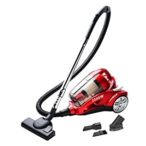 Cyclone Bagless Cyclonic Cylinder Vacuum Cleaner 2500